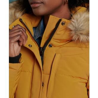 Superdry dámska bunda Everest Bomber - Žltá