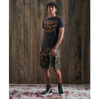Superdry pánske tričko Copper Label - DARK GREY