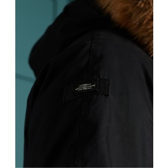 Superdry pánska bunda Original & Vintage Parka - BLACK