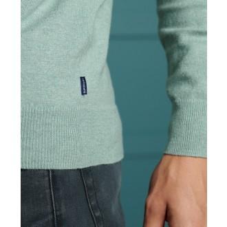 Superdry pánske dlhorukávové tričko Orange Label - BLUE