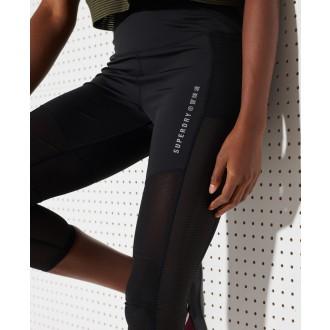 Superdry dámske legíny Training - Čierne