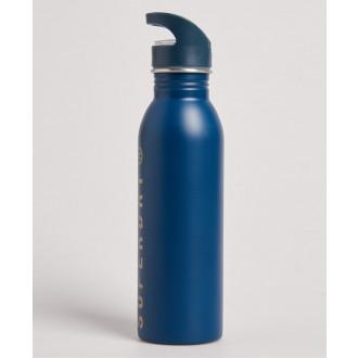 Superdry Športová Fľaša Metal - Modrá