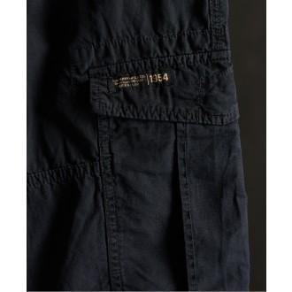 Superdry pánske kapsáčové nohavice Core Parachute - DARK GREY