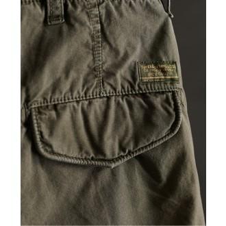 Superdry pánske kapsáčové nohavice Core Parachute - GREEN