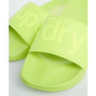 Superdry pánske šľapky City Neon - Zelená