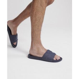 Superdry pánske šľapky Lineman - Námornícka modrá
