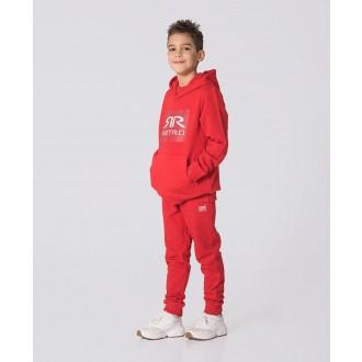 Retrojeans detská mikina KID HOODIE - Červená