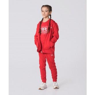 Retrojeans detská mikina KID ZIPUP - Červená