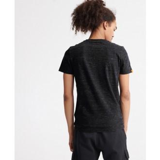 Superdry pánske tričko Orange Label Vintage Embroidered - Čierna