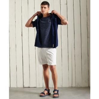 Superdry pánske tričko Organic Cotton Vintage Embroidery - Tmavomodrá
