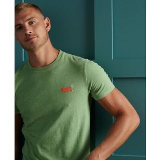 Superdry pánske tričko Organic Cotton Vintage Embroidery - Zelená