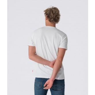 Retrojeans pánske tričko CHIEF - Biela