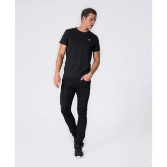 Retrojeans pánske tričko ZENIT ROUND 20 - Čierna