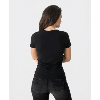 Retrojeans dámske tričko LOUISE - Čierna