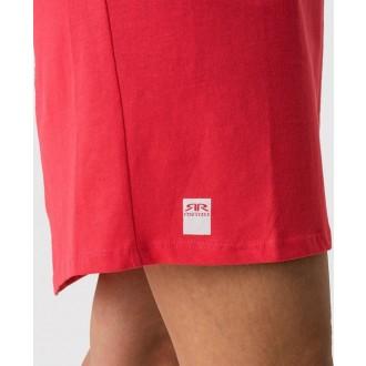 Retrojeans dámske šaty LORI D - Červená