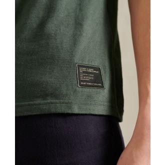 Superdry pánske tričko Military Graphic Lightweight - Tmavosivá