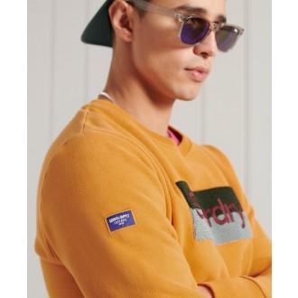 Superdry pánska mikina Core Logo Workwear - Oranžová