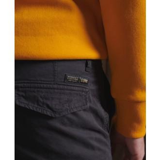 Superdry pánske kapsáčové nohavice Recruit Grip 2 - Čierna