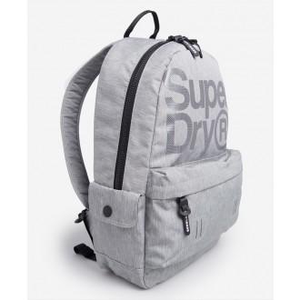 Superdry pánsky ruksak Logo Montana - Sivá