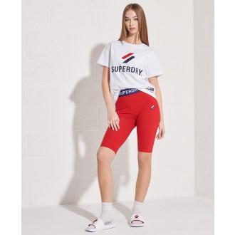 Superdry dámske tričko Sportstyle Classi - Biela