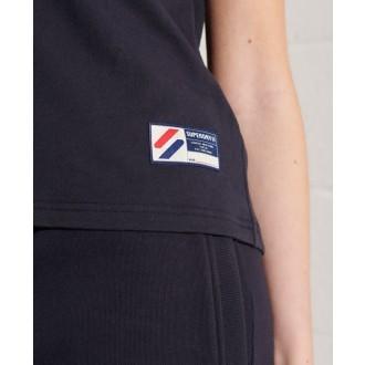 Superdry dámske tričko Sportstyle Classi - Tmavomodrá