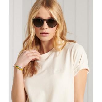 Superdry dámske tričko Organic Cotton Classic - Biela