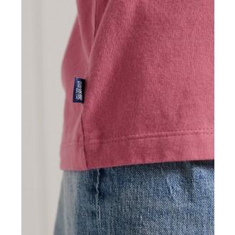 Superdry dámske tričko Organic Cotton Classic - Ružová