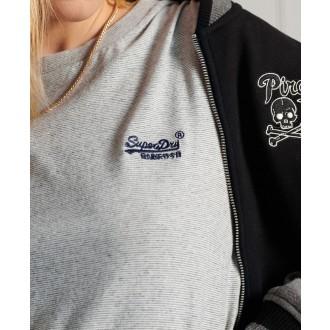 Superdry dámske tričko Organic Cotton Classic - Svetlosivá
