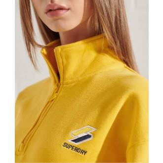 Superdry dámska mikina Sportstyle Essential - Žltá