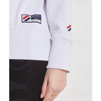 Superdry dámska mikina Sportstyle Essential - Biela