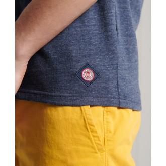 Superdry pánske tričko Vintage Logo Tri - Svetlomodrá
