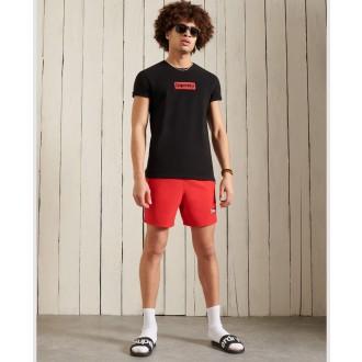 Superdry pánske tričko Core Logo Workwear Standard Weight - Čierna
