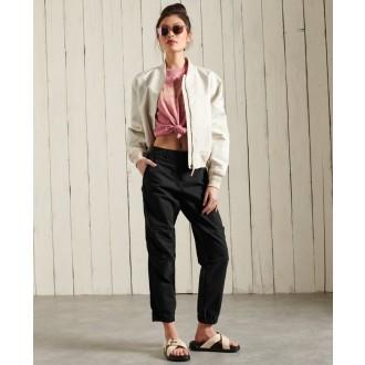 Superdry dámske tričko Workwear Graphic - Ružová
