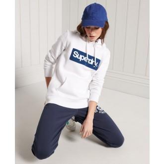 Superdry dámska mikina Core Logo Workwear - Biela