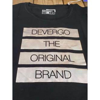 Devergo Dámske Tričko 107 - Čierna