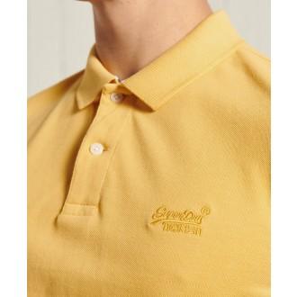 Superdry pánske tričko Vintage Destroyed Polo - Žltá