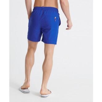 Superdry pánske plavky Waterpolo - Modrá