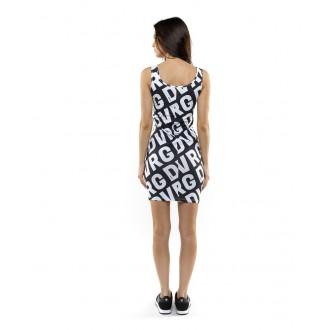 Devergo dámske šaty - čierna-biela