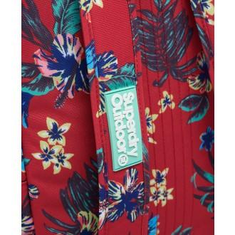 Superdry dámsky ruksak Hawaiian Montana - Červená