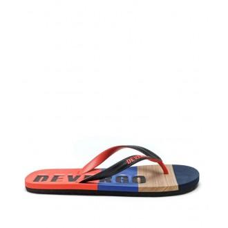 Devergo pánske šľapky flip-flop Petry colour - Viacfarebné