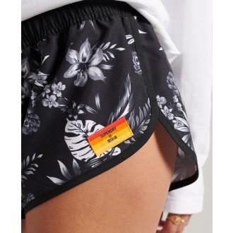 Superdry dámske kraťasy Surf Boardshorts - Čierna