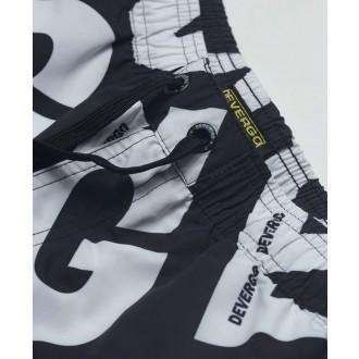 Devergo pánske plavky - čierna / biela