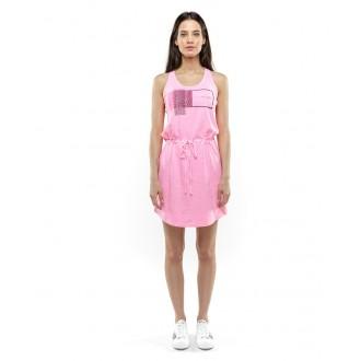 Devergo dámske šaty 805 - Fialová