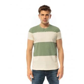 Devergo pánske tričko - Béžová