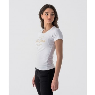 Retrojeans dámske tričko JEMSA - Biela