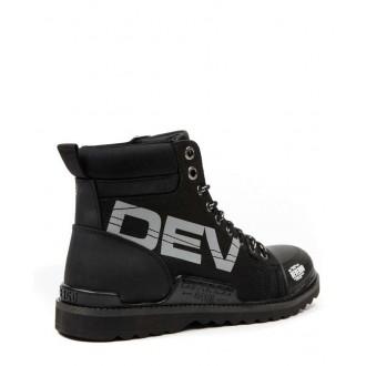 Devergo pánske topánkyHELSINKI NY - Čierna