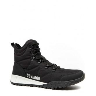 Devergo pánske turistické topánkyFREDDIE - Čierna