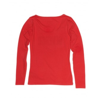 Devergo dámske dlhorukávové tričko - Červená