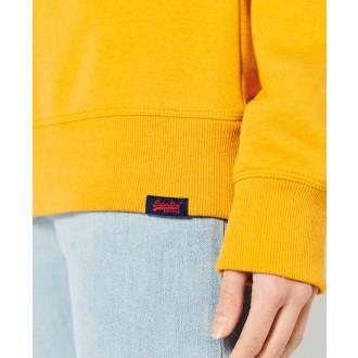 Superdry dámska mikina Vintage Logo Crew - Žltá