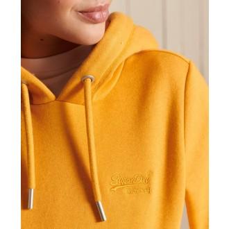 Superdry dámska mikina Vintage Logo Embroidered - Žltá
